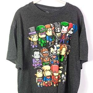 DC Comics Mens Graphic T-Shirt Cotton